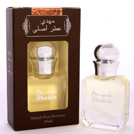 Packaging Perfume Sheikh 15ml